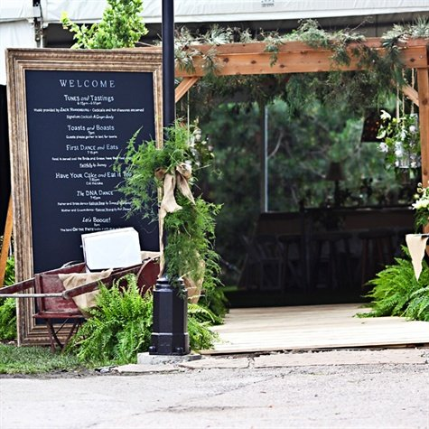 Wedding Inspiration: Welcome Sign