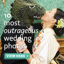 10 Most Outrageous Wedding Photos