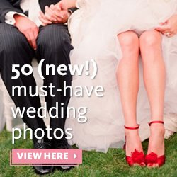 50 new must-have wedding photos