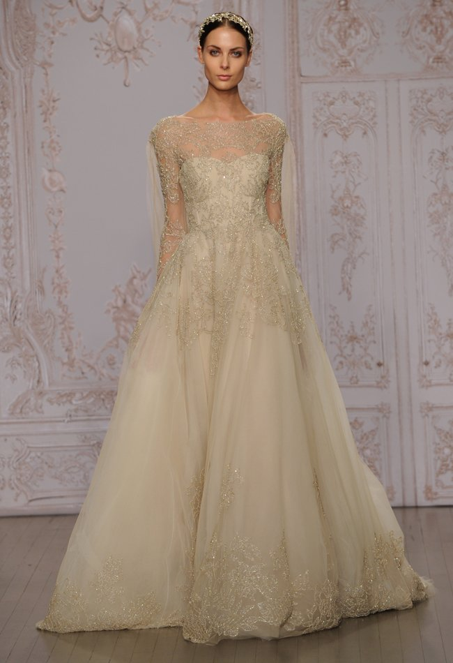 11monique-lhuillier-metallic-beaded-wedding-dress-11