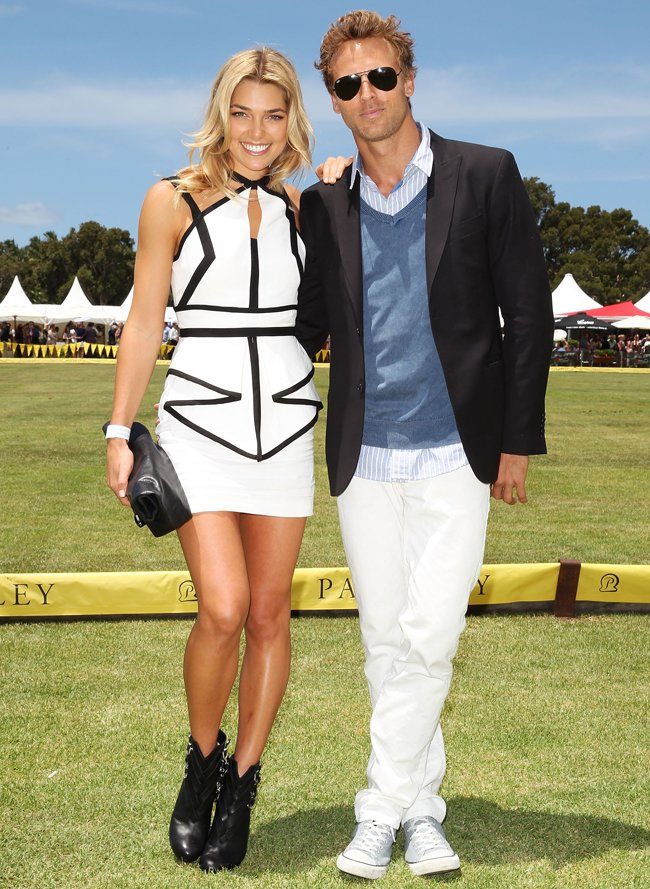 Celebrities Attend Paspaley Polo In The City