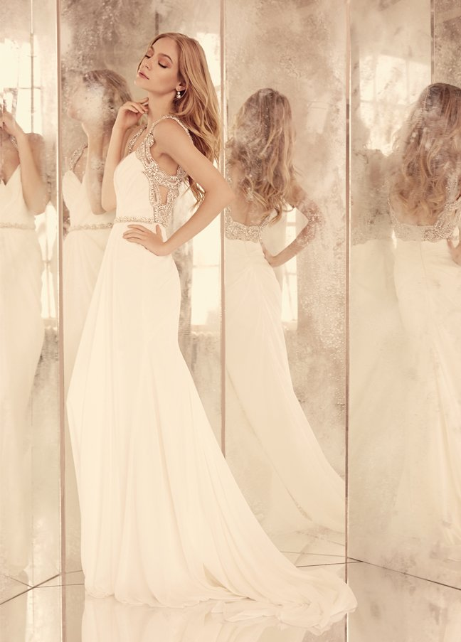 hayley-paige-bridal-silk-georgette-a-line-sweetheart-crossover-mosaic-draped-skirt-beaded-belt-natural-6557_zm